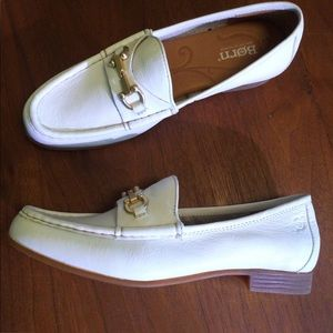 Born White Loafers with Bit